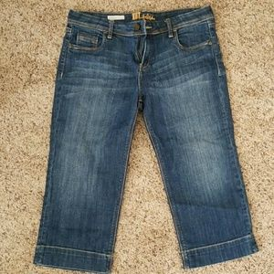 Kut from the Kloth Natalie Crop Jeans size 10